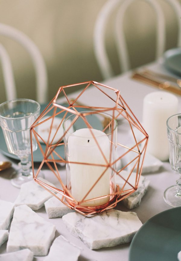 5 Stylist Ways To Create A Marble Metallic Wedding Theme hellomay.com.au - juddricphotography.com