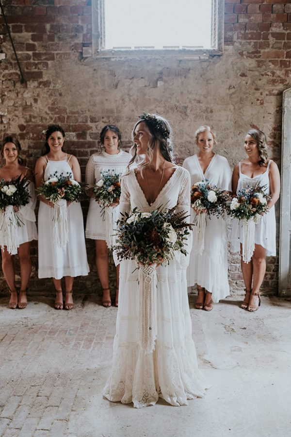 How To Pull Off The Mismatched Bridesmaids Trend hellomay.com.au - danielmilliganphotography.com